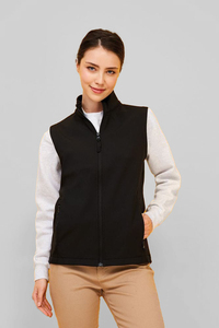 Sols 02888 - Dames Softshell Bodywarmer Race Bw