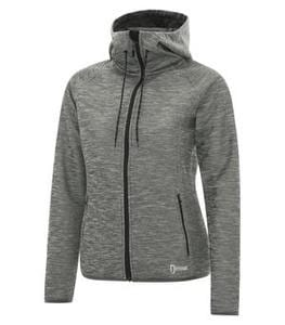 DryFrame DF7655L - DRY TECH FLEECE FULL ZIP HOODED LADIES JACKET