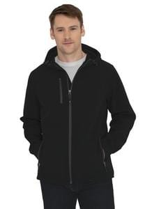 Coal Harbour J7605 - ESSENTIAL HOODED SOFT SHELL JACKET