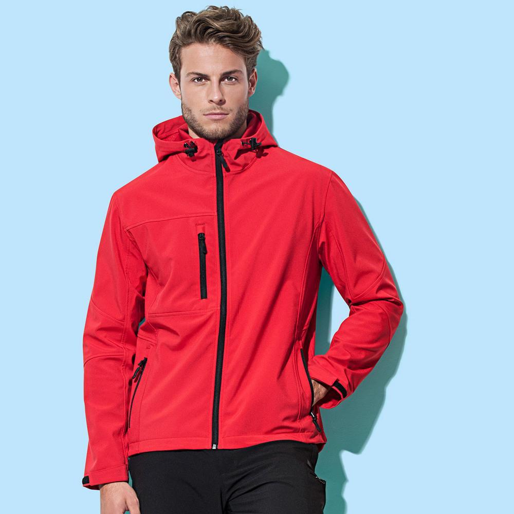 Stedman ST5240 - Active Softest Shell Hooded Jacket