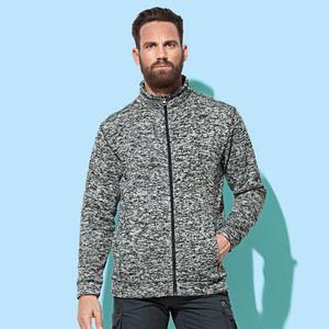 Stedman ST5850 - Men Active Knit Fleece Jacket