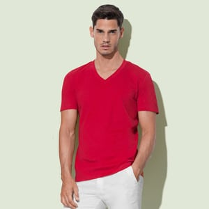 Stedman ST9210 - T-Shirt James  V Neck