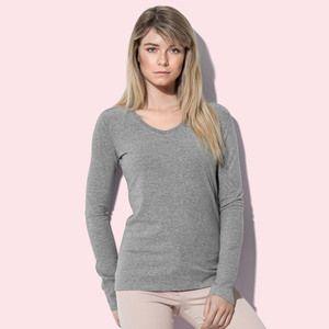 Stedman ST9720 - T-Shirt Claire Logn Sleeve V Neck