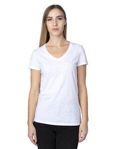 Threadfast 200RV - Ladies Ultimate Short-Sleeve V-Neck T-Shirt