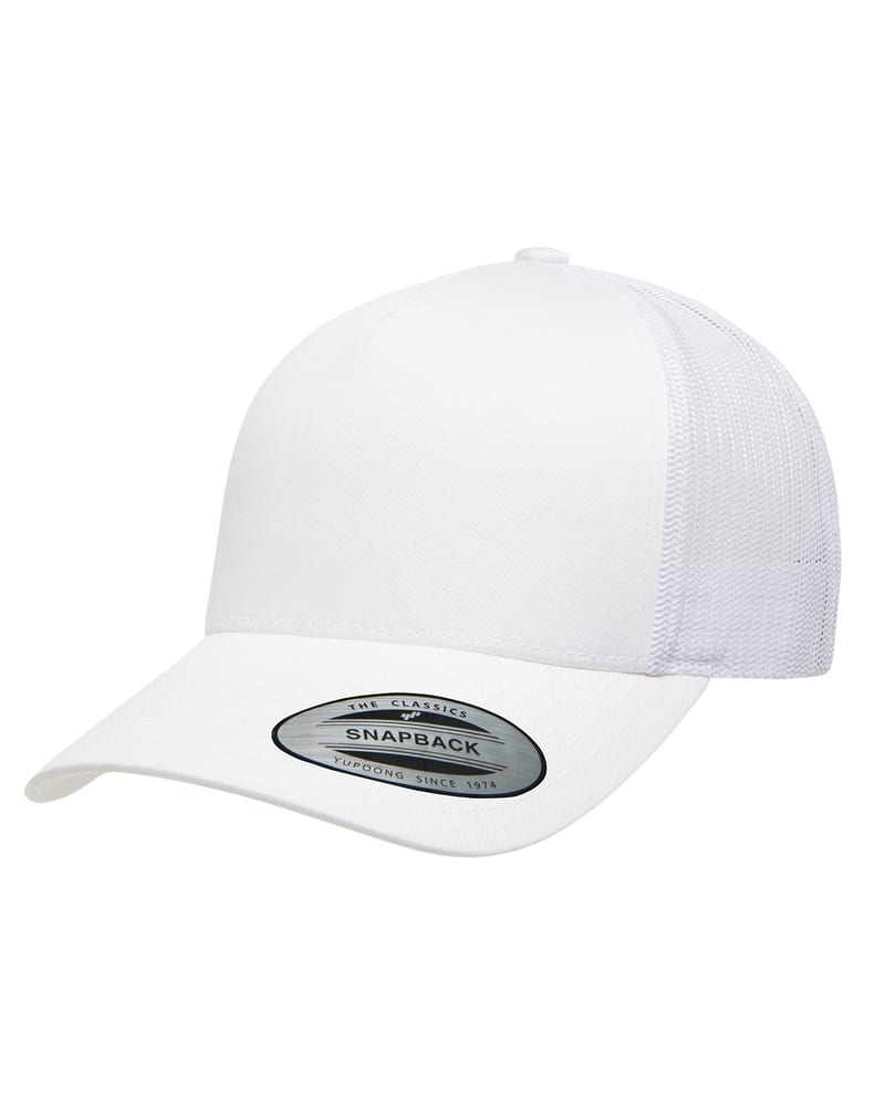 Yupoong 6506 - Adult 5-Panel Retro Trucker Cap