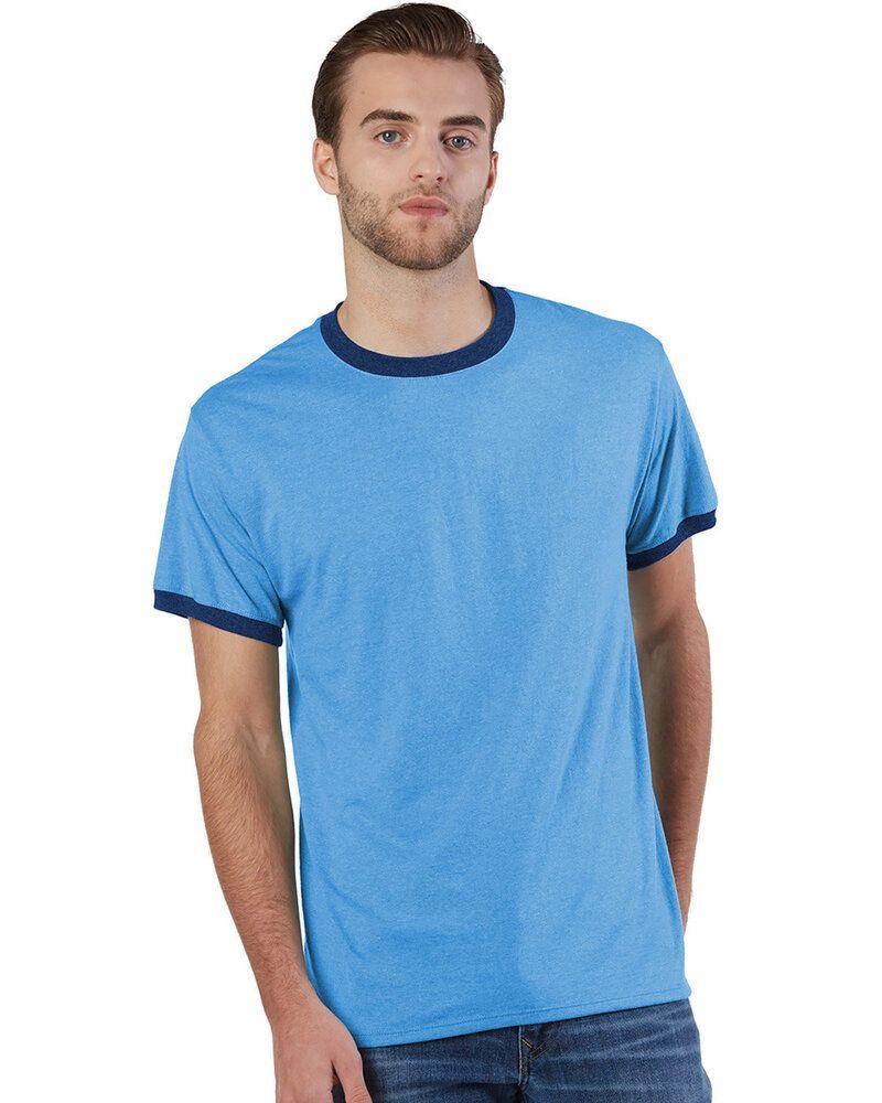 Champion CP65 - T-Shirt Ringer Triblend pour adulte