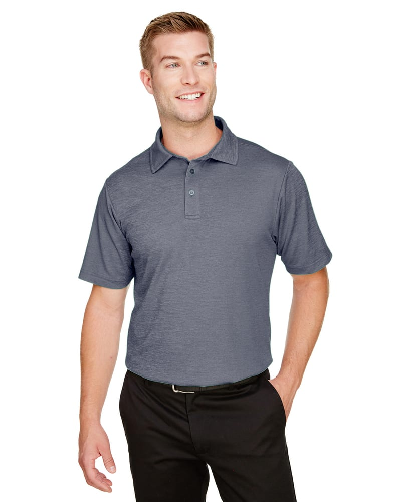 Devon & Jones DG22 - Men's CrownLux Performance™ Address Mélange Polo