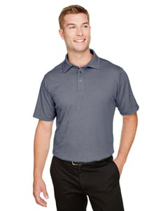 Devon & Jones DG22 - Mens CrownLux Performance™ Address Mélange Polo