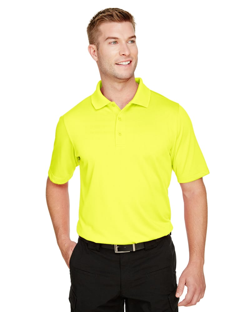 Harriton M348 - Men's Advantage Snag Protection Plus IL Polo