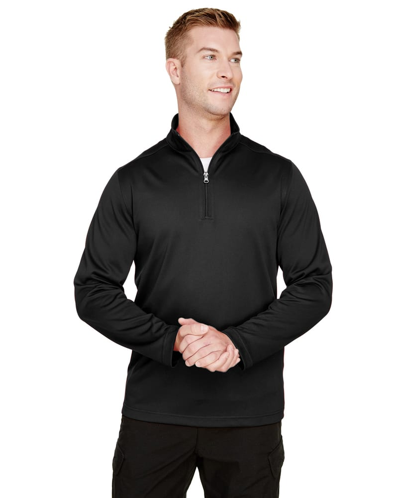 Harriton M748 - Chandail Hommes - Advantage Snag Protection Plus Il Quarter-Zip