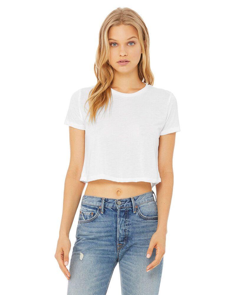 Bella+Canvas B8882 - T-shirt court fluide pour femme