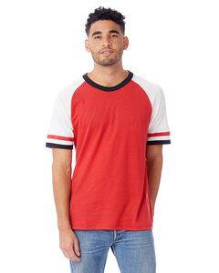 Alternative Apparel 5093BP - Mens Vintage Jersey Slapshot T-Shirt