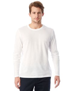 Alternative Apparel 5100BP - T-shirt à manches longues en jersey vintage Keeper pour homme