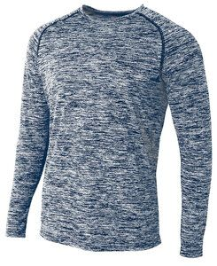 A4 A4N3305 - Adult Space Dye Long Sleeve Performance Tee
