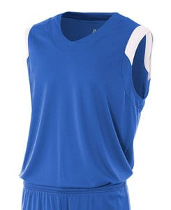 A4 A4NB2340 - Youth V-Neck Sleeves Jersey