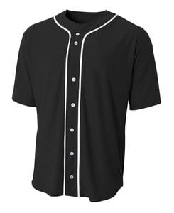 A4 A4NB4184 - Youth Full Button Baseball Top