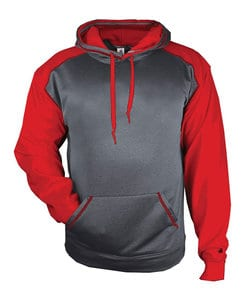 Badger BG1468 - Adult Sport Heather Fleece Hood