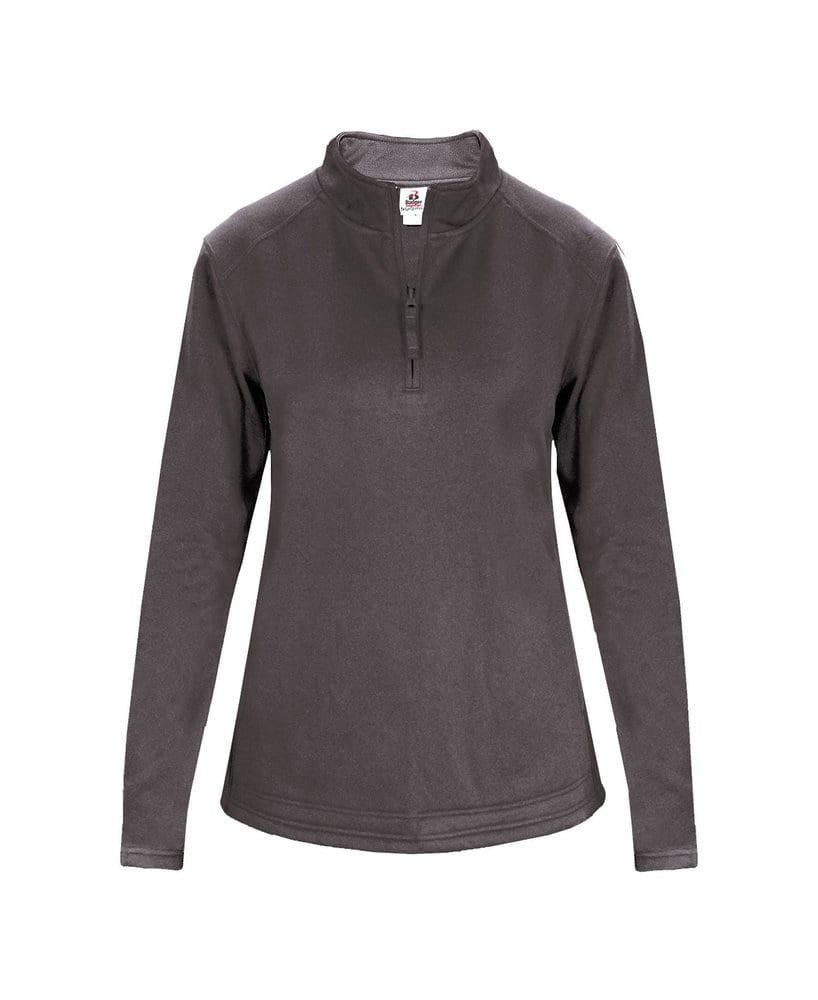 Badger BG1486 - Ladies' Poly Fleece 1/4 Zip