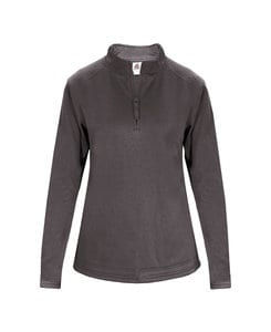 Badger BG1486 - Ladies Poly Fleece 1/4 Zip