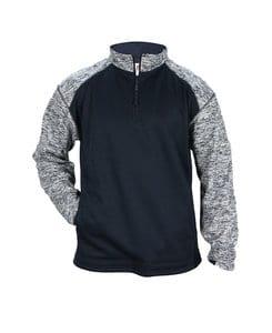 Badger BG1487 - Adult Blend Sport Fleece 1/4 Zip
