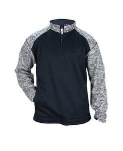 Badger BG1487 - Adult Blend Sport Fleece 1/4 Zip