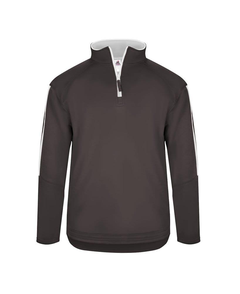 Badger BG1489 - Adult Sideline Fleece 1/4 Zip