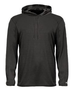 Badger BG2105 - Youth B-Core Long Sleeve Hood Tee