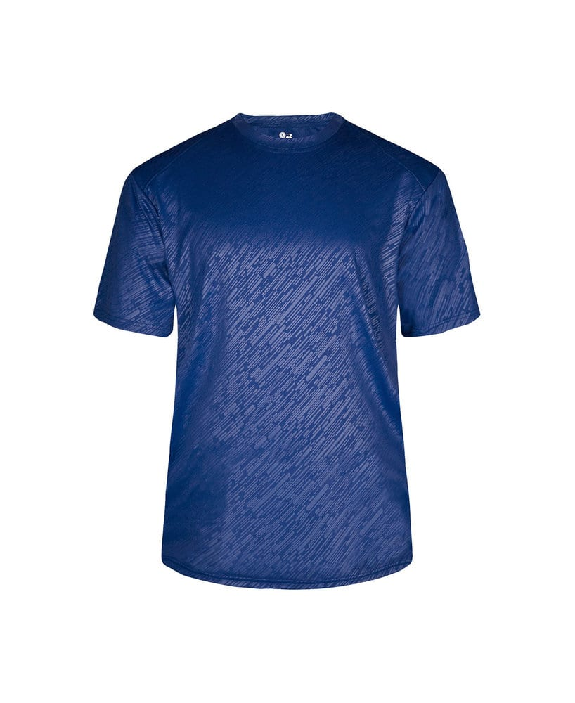Badger BG2131 - Youth Lined Embossed Tee