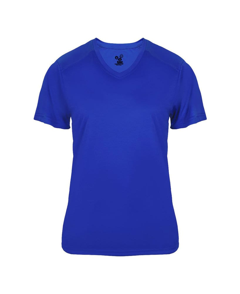 Badger BG4062 - Ladies' Ultimate V-Neck Tee