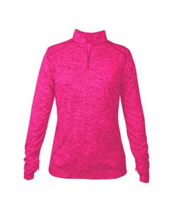 Badger BG4173 - Ladies Tonal Blend 1/4 Zip