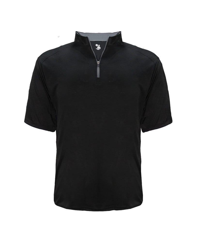 Badger BG4199 - Adult B-Core Short Sleeve 1/4 Zip