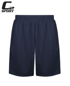 "Badger BG5139 - C2 Adult Mock Mesh 9"" Short"