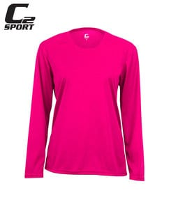 Badger BG5604 - C2 Ladies Long Sleeve Tee