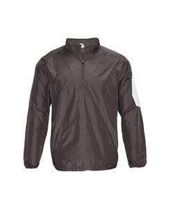 Badger BG7641 - Adult Sideline Long Sleeve Pullover