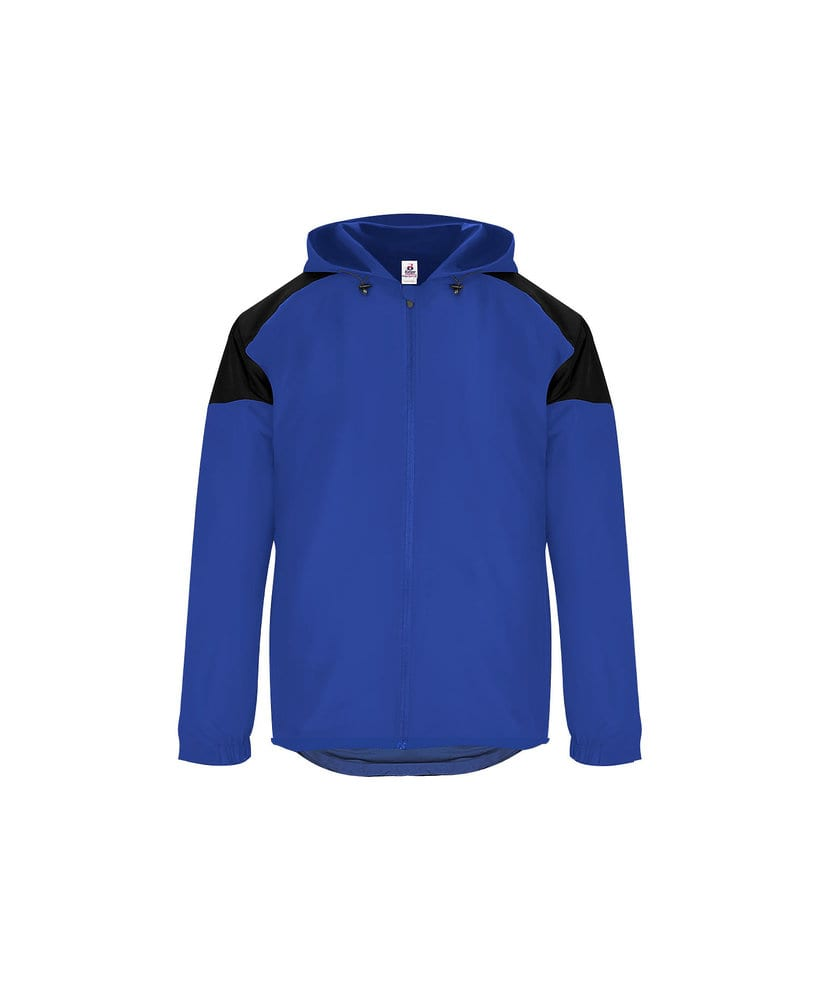 Badger BG7643 - Adult Rival Hooded Jacket