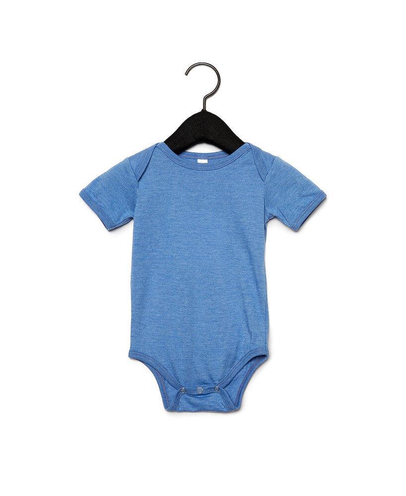 BELLA+CANVAS B100B - Baby Jersey Short Sleeve One Piece