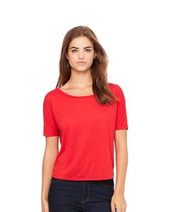 BELLA+CANVAS B8871 - Womens Flowey Open Back Tee