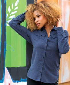 Burnside BN5200 - Ladies Flannel Shirt