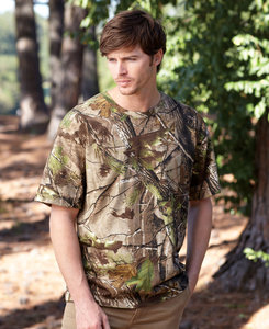 Code Five LA3980 - Adult REALTREE Camo Tee