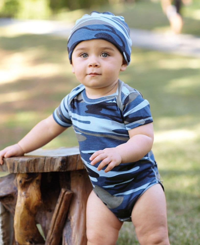 Code Five LA4403 - Infant Camo Bodysuit