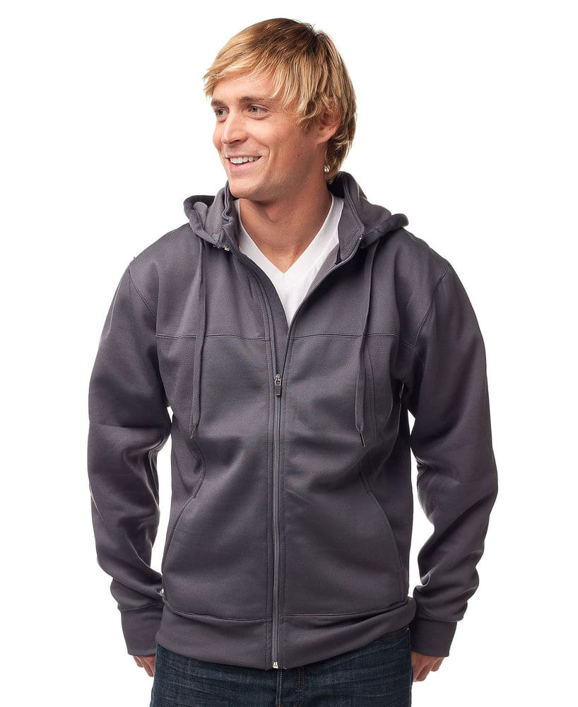 Independent Trading Co. EXP80P - Men's Heavyweight Poly-Tech Zip Hood