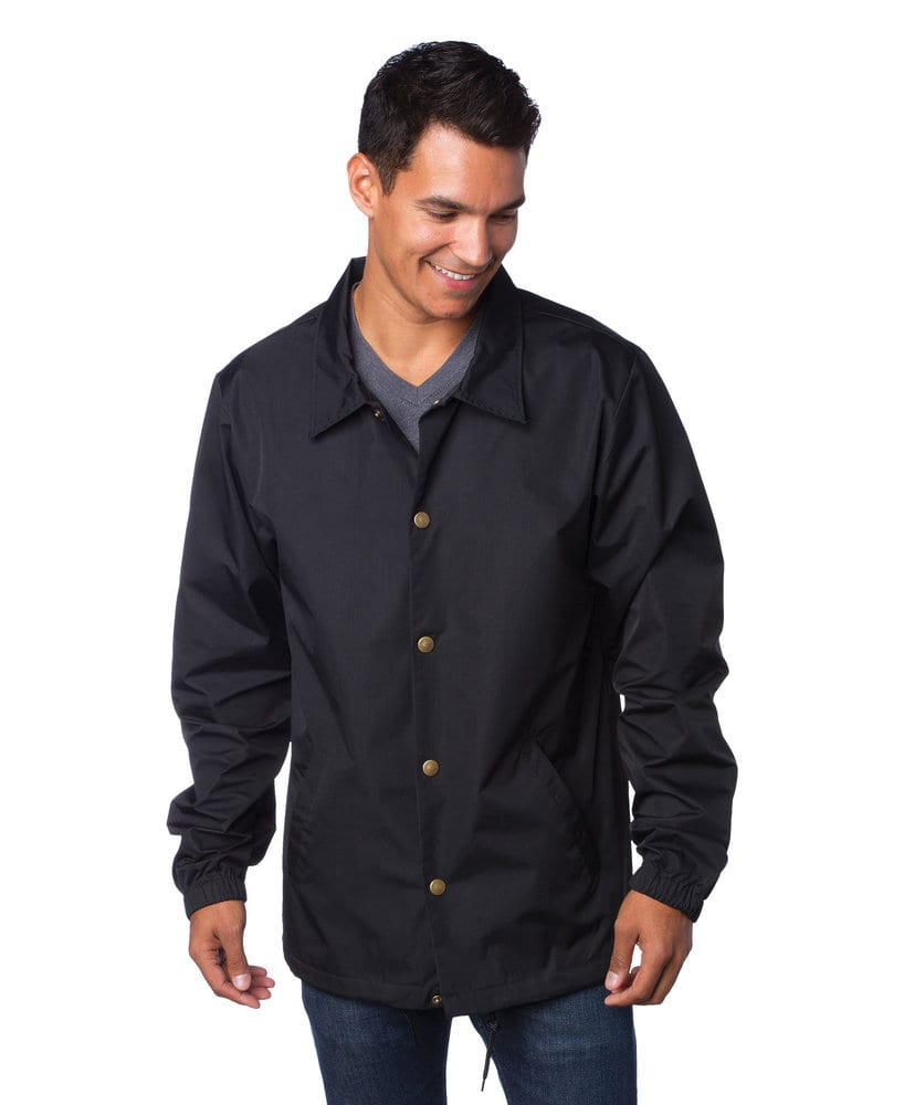 Independent Trading Co. EXP99CNB - Men's Heavyweight Windbreaker Coaches Jacket