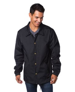 Independent Trading Co. EXP99CNB - Mens Heavyweight Windbreaker Coaches Jacket