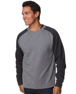 Independent Trading Co. IND30R - Adult Lightweight Fitted Raglan Crew
