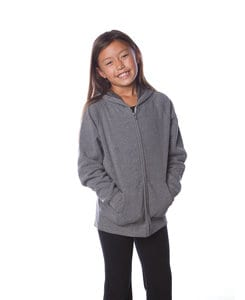 Independent Trading Co. PRM15YSBZ - Youth Lightweight Raglan Full Zip