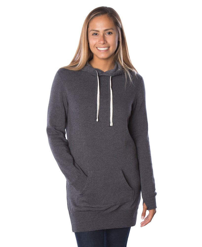 Independent Trading Co. PRM65DRS - Women's Midweight Special Blend Hooded Pullover Dress