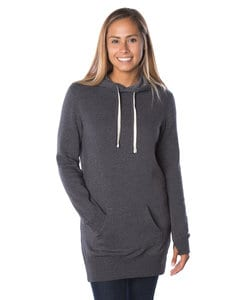 Independent Trading Co. PRM65DRS - Womens Midweight Special Blend Hooded Pullover Dress