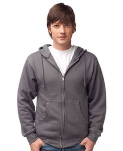 Independent Trading Co. SS450Z - Mens Midweight Full Zip Hooded Fleece