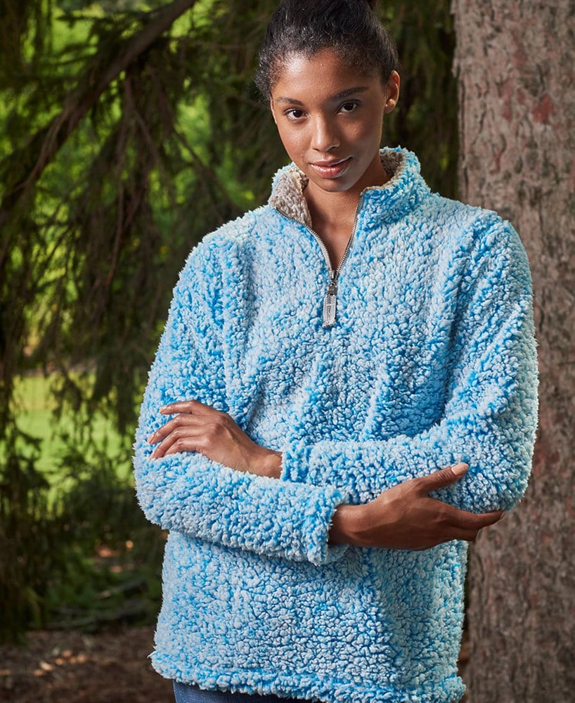J. America JA8451 - Ladies' Epic Sherpa 1/4 Zip