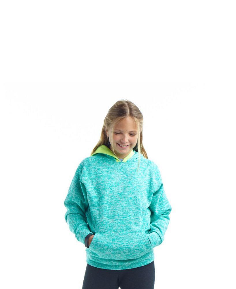 J. America JA8610 - Youth Cosmic Contrast Pullover Hood
